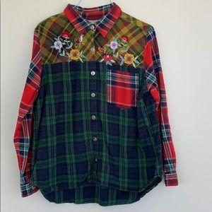 Blair Long sleeve vintage button down shirt